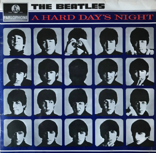 Beatles (The) - A Hard Day's Night (LP) (G+/G++)